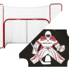 Bauer Hockey Goal, Backstop and Sharpeshooter Pack