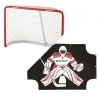 Bauer PRO Hockey Goal and Sharpshooter Pack