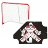 Bauer Deluxe Folding Goal and Sharpshooter Pack