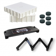 Puckhandling Station - Passer + Trainer + 20 Tiles + 5 Pucks