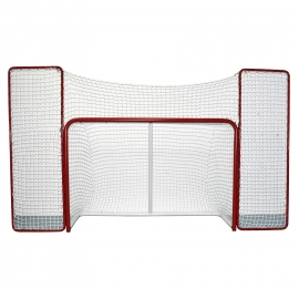 Hockey Goal with Backstop