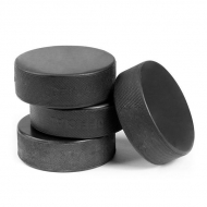 Official Ice Hockey Puck - 5 Pack