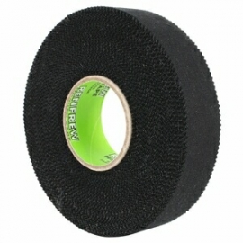 Renfrew Black Cloth Hockey Tape - 1inch